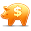Piggy Bank USD icon