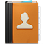 Address Book ornage-64