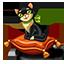 Cat pillow icon