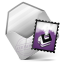 Mail purple icon