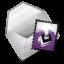 Mail purple icon