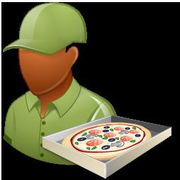 Pizzadeliveryman Male Dark