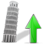 Tower of Pisa Up Icon