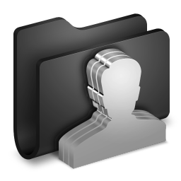 Group Black Folder
