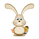 Easter bunny rss egg-128