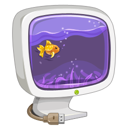 Computer aquarium