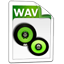 Audio wav icon