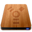 Wooden Slick Drives Firewire-64