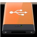 HDD Orange USB W-128