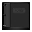 Black NotePad-128