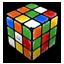Rubik Cube Trashed Icon