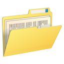 Folder with Contents-128