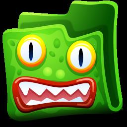 Creature Green Folder