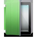 iPad 2 black green cover-128