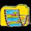 Folder y videos icon