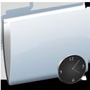 Folder Clock-128