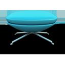 Sky Blue Seat-128