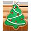 Christmas Tree Cookie icon