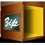 Fichiers Compresse Zip Icon