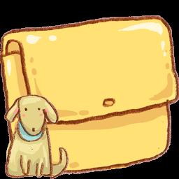 Folder Dog Icon Download Harmonia Pastelis Icons Iconspedia