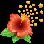 Pollen flower Icon