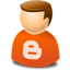User web 2.0 blogger icon