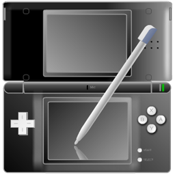 Nintendo DS black with pen-256