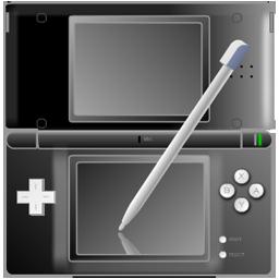 Nintendo DS black with pen