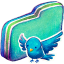 Birdie Green Folder Icon