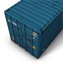 Container Blue-128