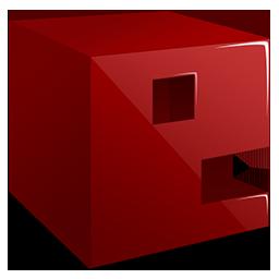 E 3D letter