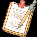 Notepad Yellow Mechapencil-128