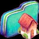 Home Green Folder-128