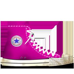 Converse Pink dirty