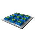 Calculator Blue-128