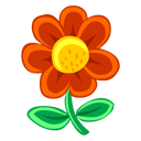Red Flower-128