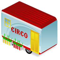 Circus trailer