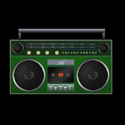 Boombox Green
