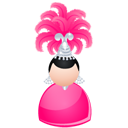 Magic woman pink-128