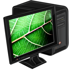 My Computer leaf Icon | Download Vivid icons | IconsPedia