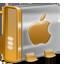 Mac HD orange icon