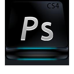 Adobe Photoshop CS4 Black