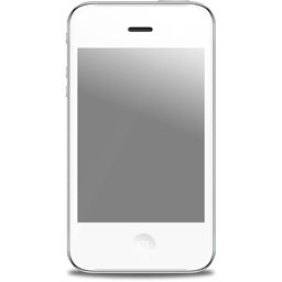 iPhone front white