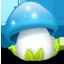 Blue Mushroom icon
