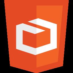 HTML5 logos 3D