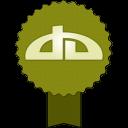 Badge Deviantart-128