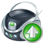 Boombox Up Icon