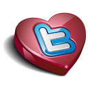 Twitter heart-128
