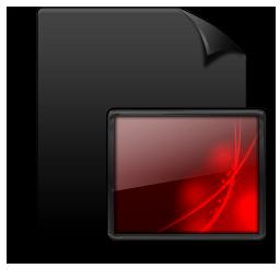 File Image black red