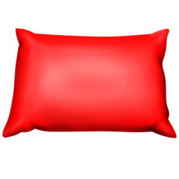 Red Pillow-256